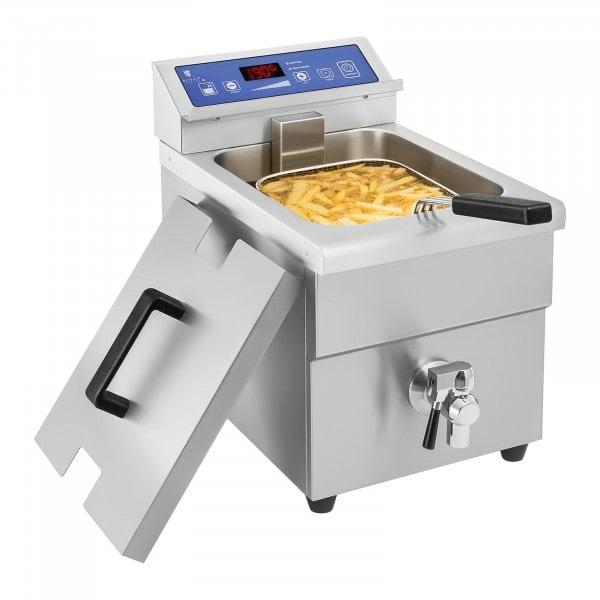 Friggitrice a induzione - 1 x 10 Litri - 60 fino a 190°C