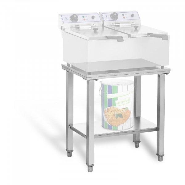Ripiano inox per friggitrice - 62 x 42 cm