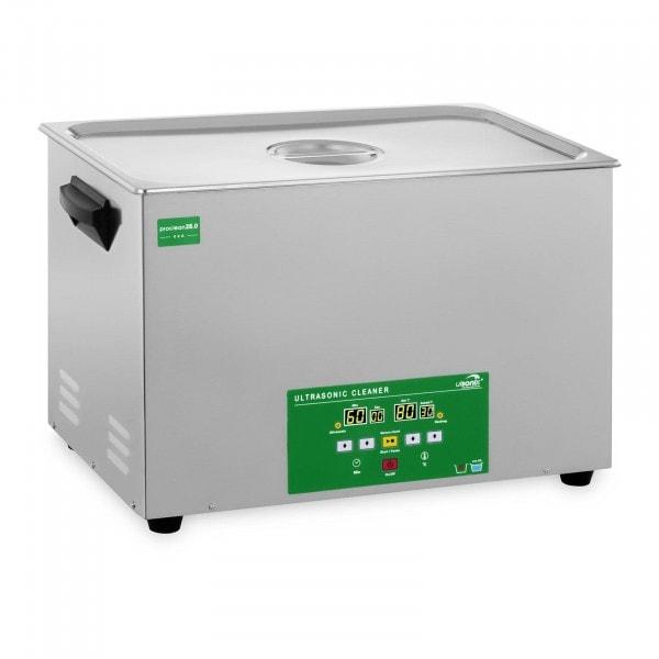 Lavatrice a ultrasuoni - 28 litri - 480 W - Memory Quick Eco