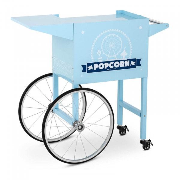 Carretto per macchina pop corn - blu
