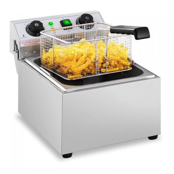 Friggitrice elettrica - 10 litri - Timer - 230 V