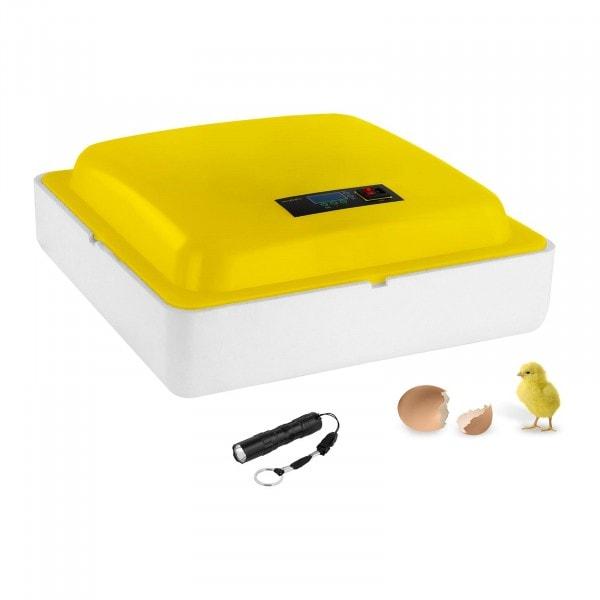 Seconda Mano Incubatrice per uova professionale - 88 uova - lampada sperauova inclusa