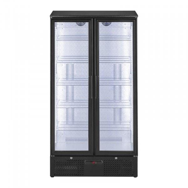 B-WARE Vetrina frigo per bibite - 458 litri - Design nero opaco elegante