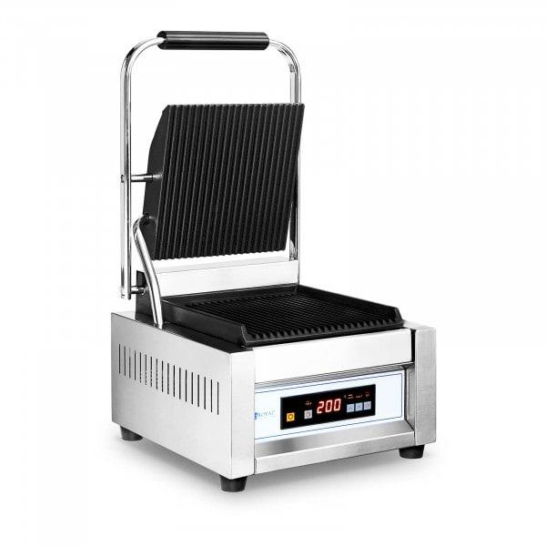 Piastra per panini, toast e bistecchiera elettrica - 1.800 W - 10057 - Rigata