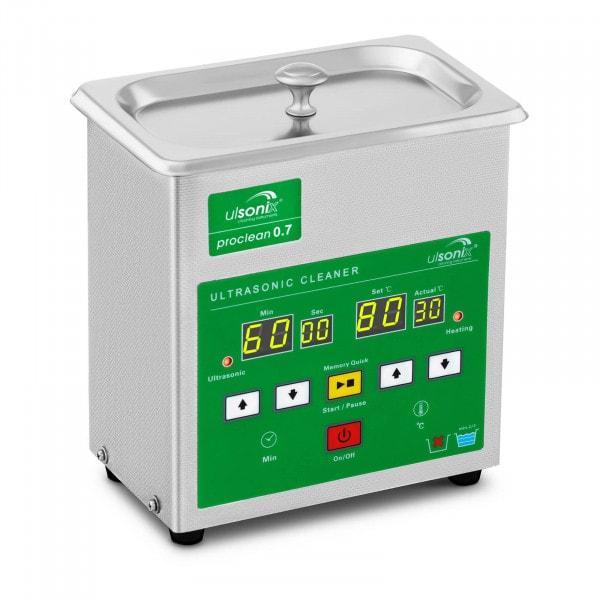 Lavatrice a ultrasuoni - 0.7 Litri - Memory Quick