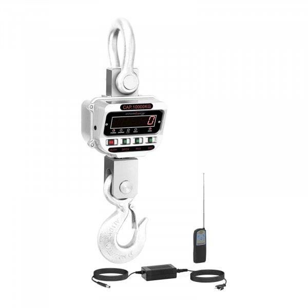 Bilancia a gancio - 10 t / 2 kg - LED