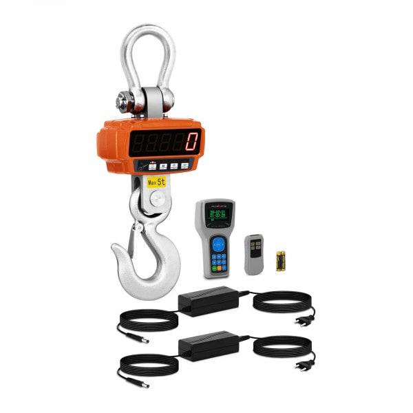 Bilancia a gancio - 5 t / 1 kg - Remote Display