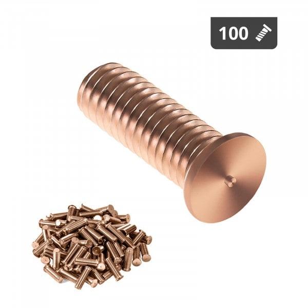 Perni a saldare - M3 - 10 mm - Acciaio - 100 pezzi