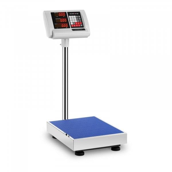 Bilancia a piattaforma - 100 kg / 10 g - 40 x 30 cm
