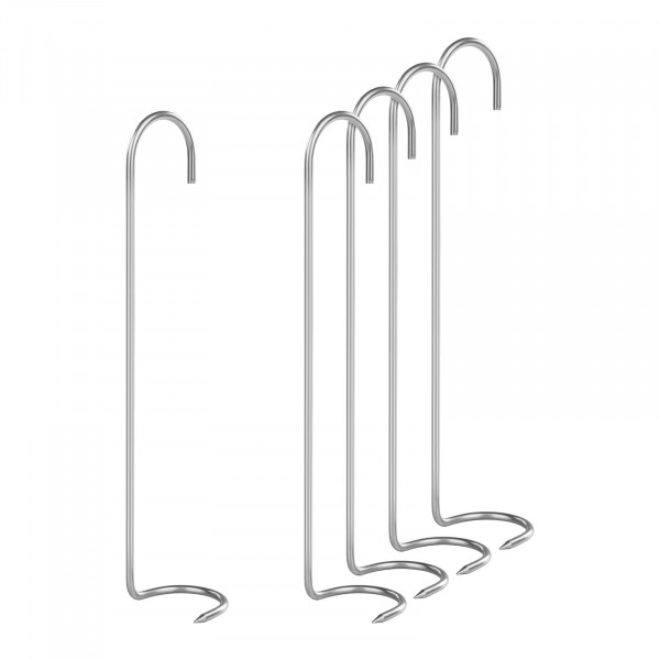 Set di 5 ganci per affumicare - Gancio ad artiglio