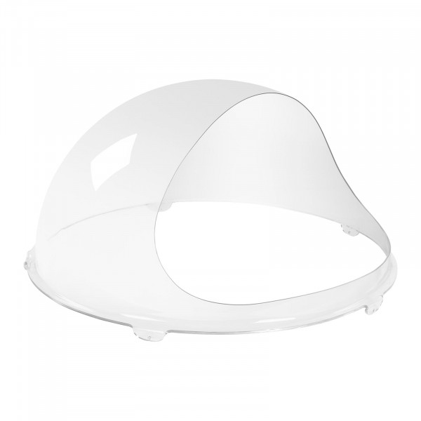 Cupola paraschizzi - 62 cm - vetro acrilico