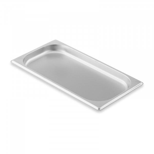 Contenitore gastronorm acciaio inox - 1/3 - 20 mm