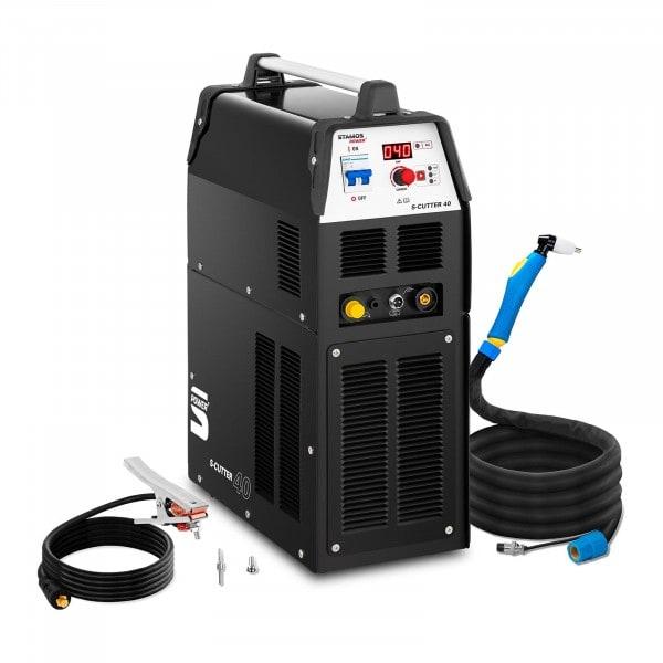 Tagliatrice al plasma con compressore integrato 40 A - Duty Cycle 60% - digitale - 230 V