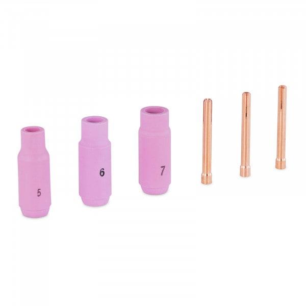 Set di ricambio Tig - Spina elastica fino a 3.2 mm