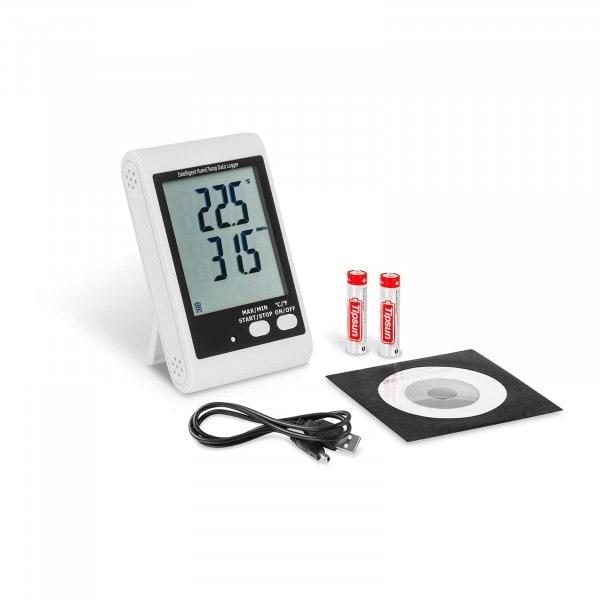 Data logger per temperatura e umidità - Display LCD