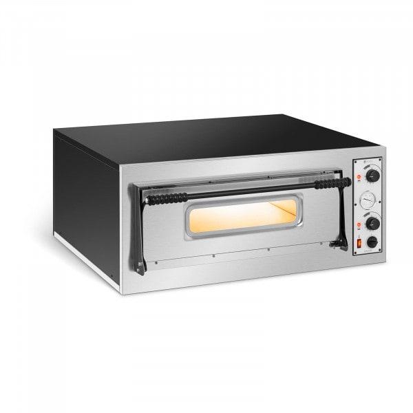 Forno elettrico per pizza professionale - 1 camera - 4 x Ø 32 cm