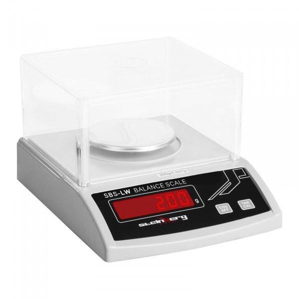 Bilancia di precisione - 200 g / 1 mg - bianco