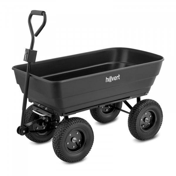Carretto da giardino - 350 kg - ribaltabile - 125 L