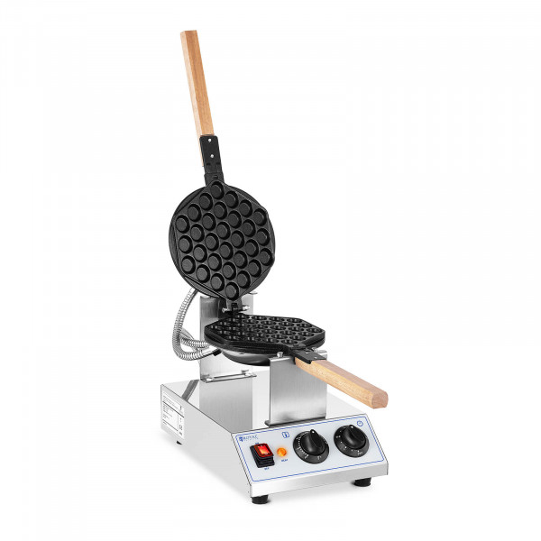 Piastra per waffel - 1.415 W - Royal Catering - 50 - 250 °C - Timer: 0 - 5 min