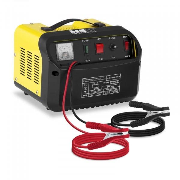 Seconda Mano Caricabatterie per auto professionale - 12/24 V - 15/20 A - pannello di controllo inclinato