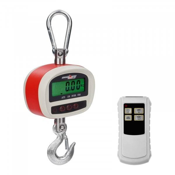 Bilancia a gancio - 300 kg / 50 g- LCD