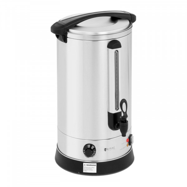 Bollitore elettrico professionale - 20,5 litri - 2.500 W - Parete doppia