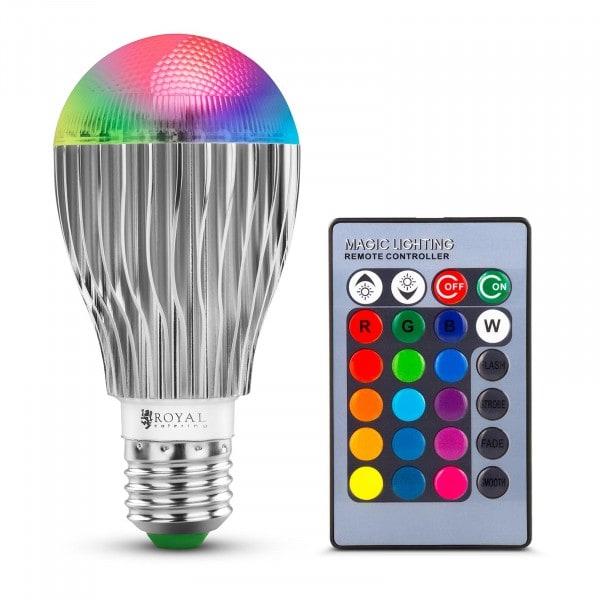 Lampadina LED con telecomando - 16 colori - 5 W
