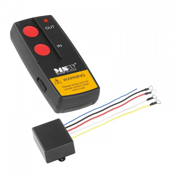 Telecomando per verricello elettrico - MSW-WR2 - 12 V - raggio d'azione di 30 m