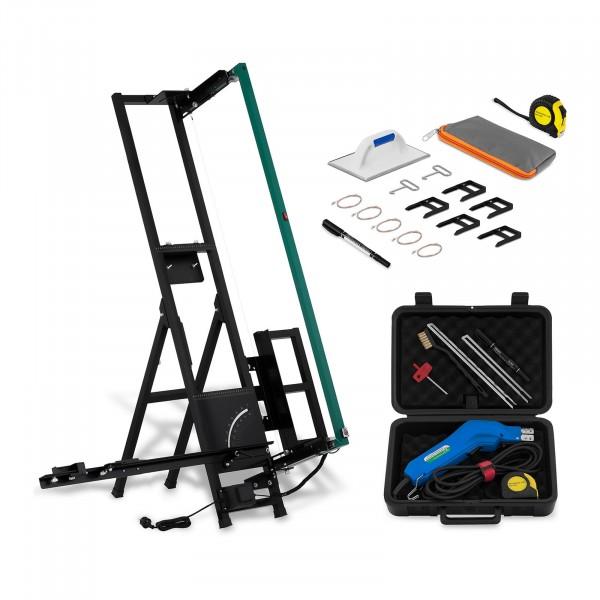 Set di cutter elettrici per polistirolo: Alucutter - 200 W e Styrocutter manuale - 250