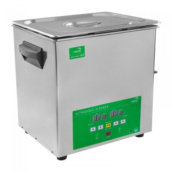 B-WARE Lavatrice a ultrasuoni - 10.0 Litri - Memory Quick