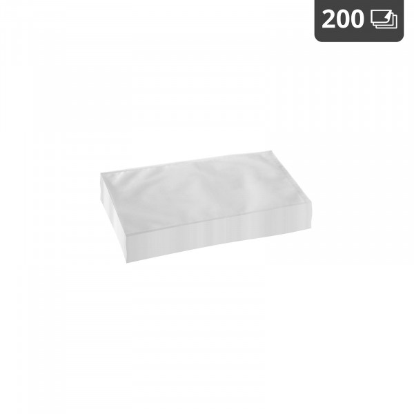 Sacchetti sottovuoto per alimenti - 25 x 15 cm - 200 pezzi