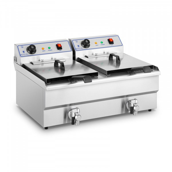 Seconda Mano Friggitrice elettrica - 2 x 16 litri - 400 V
