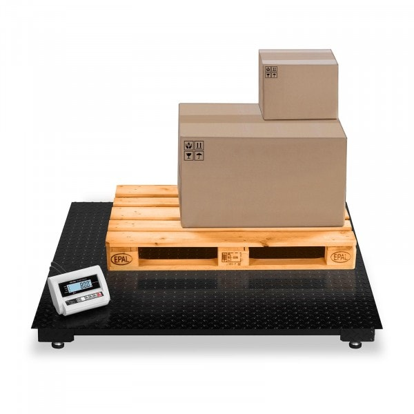 Bilancia da pavimento - 3 t / 1 kg - LCD