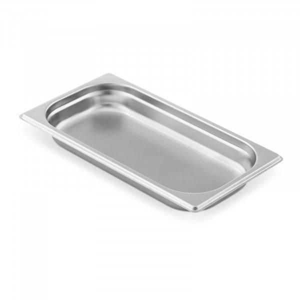 Contenitore gastronorm acciaio inox - 1/3 - 40 mm