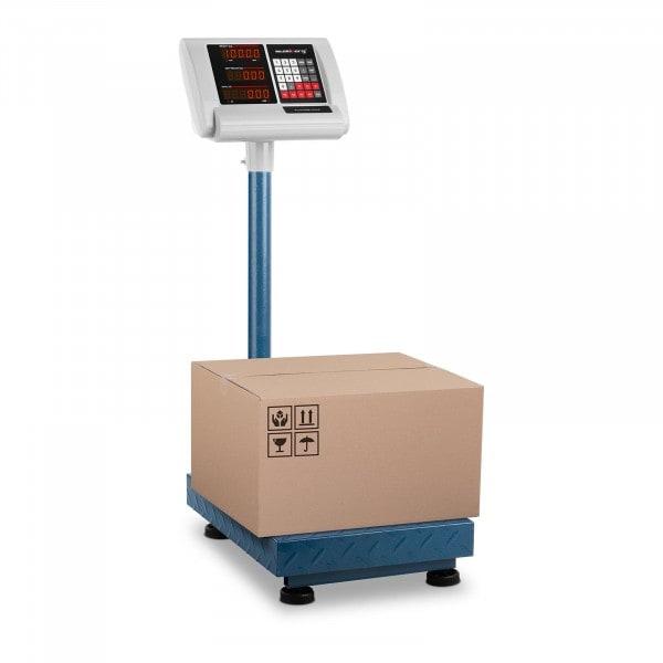 Bilancia a piattaforma - 100 kg / 10 g - 40 x 30 cm - compatta